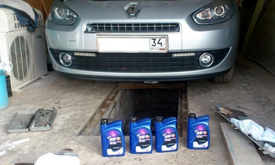 Замена масла в КПП Рено Меган 2 - статья на DDCAR