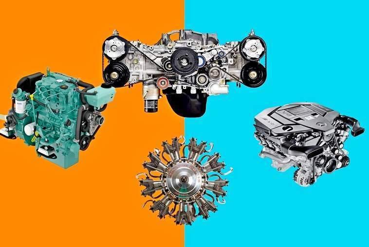 Виды автомобильных двигателей  - статья на DDCAR
