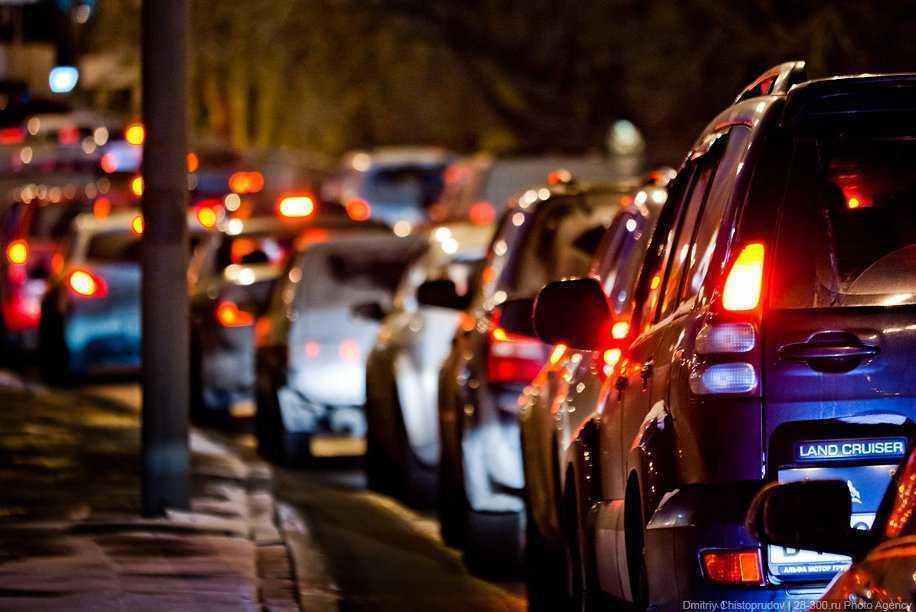 Пробки в городе