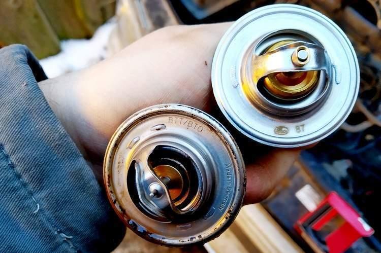 Замена термостата: диагностика неисправности прибора - статья на DDCAR