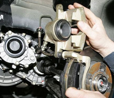 Замена колодок передних и задних, когда менять? - статья на DDCAR