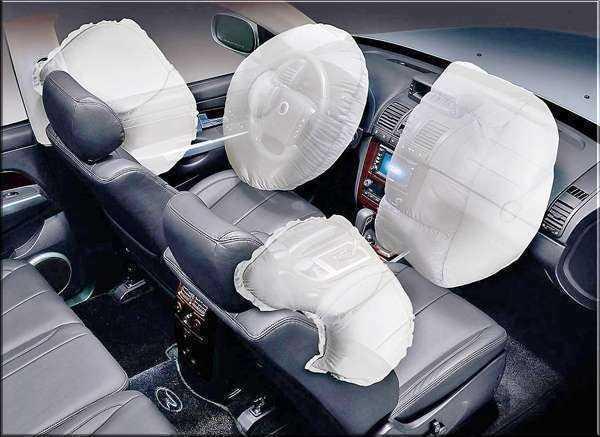 Проверка исправности подушек безопасности автомобиля - статья на DDCAR