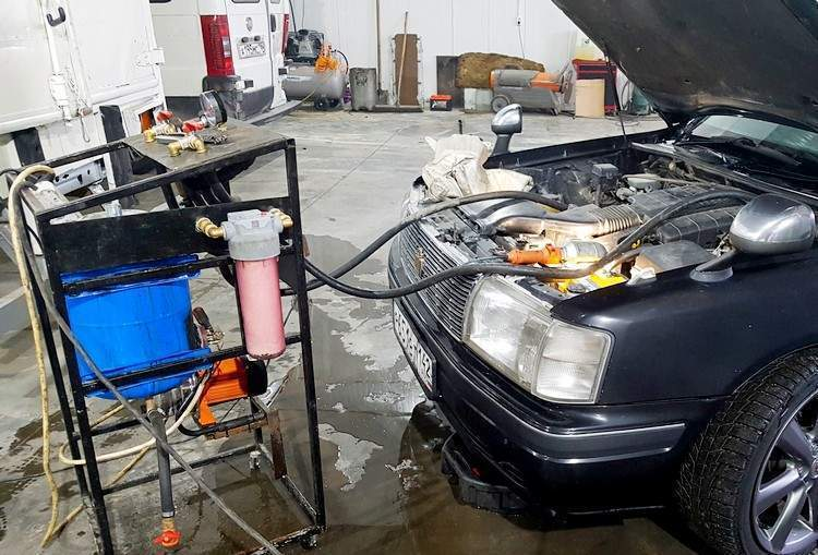Как промыть систему охлаждения двигателя - статья на DDCAR