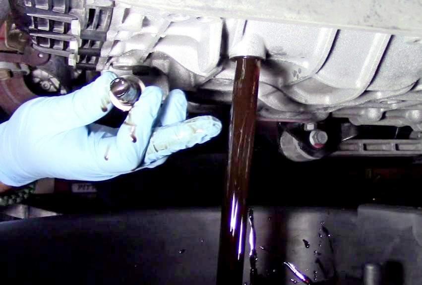 Замена масла в АКПП Хендай ix35 - статья на DDCAR