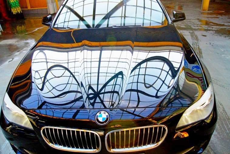Как покрыть автомобиль жидким стеклом - статья на DDCAR