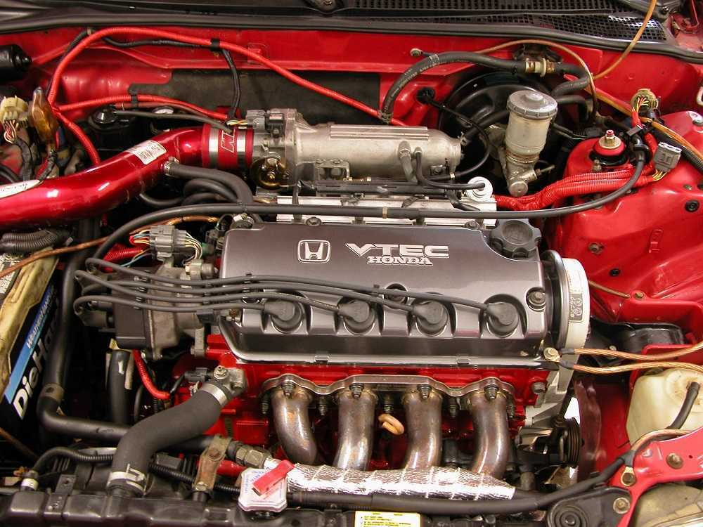 Система VTEC у двигателей Honda
