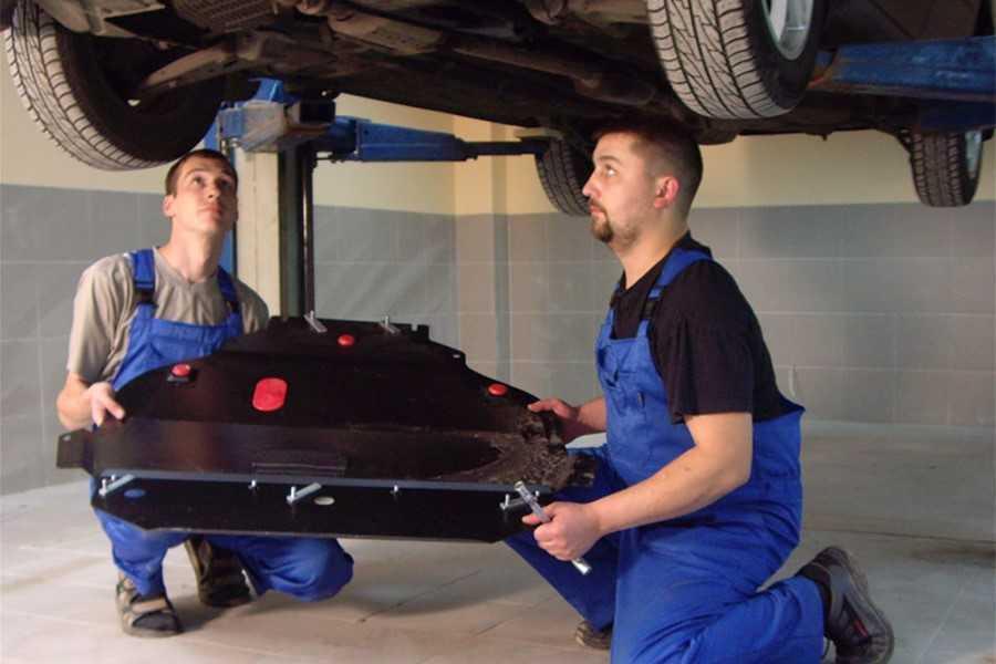 Защита картера двигателя: есть ли от неё польза? - статья на DDCAR