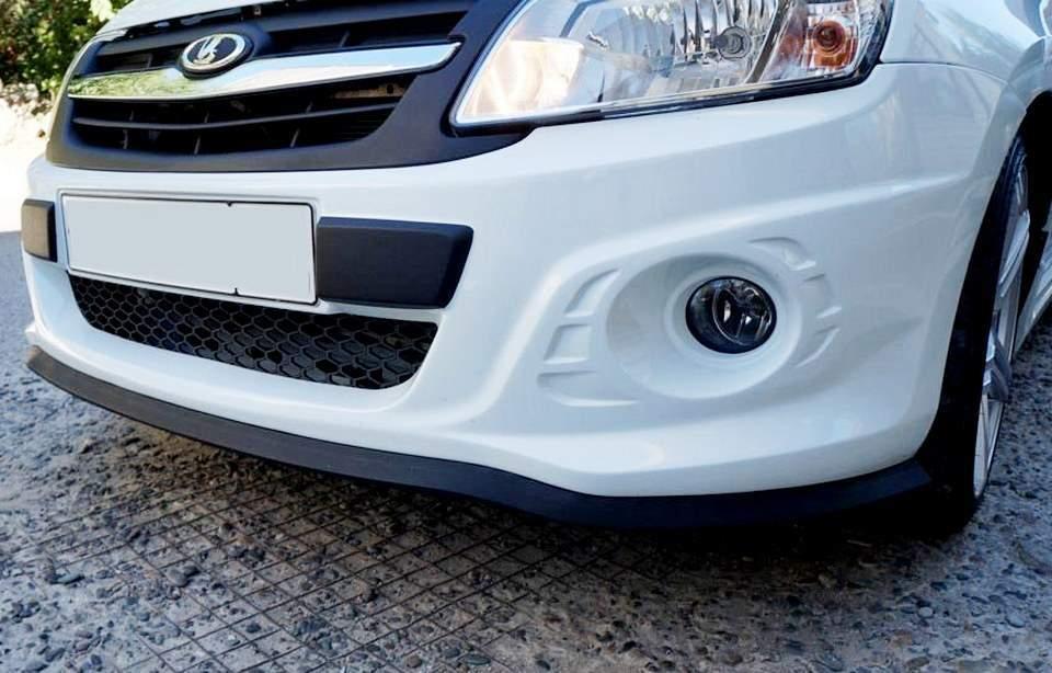 Юбка на бампер автомобиля - статья на DDCAR