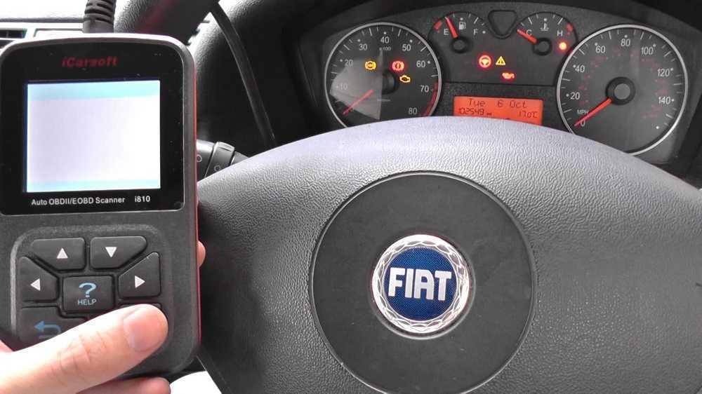 """Горит """"Check-Engine"""" на Fiat: проблемы с двигателем? - статья на DDCAR"""