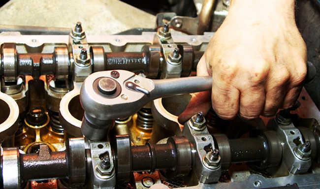 Посторонние звуки в двигателе