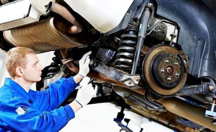 Как проверить подвеску автомобиля - статья на DDCAR