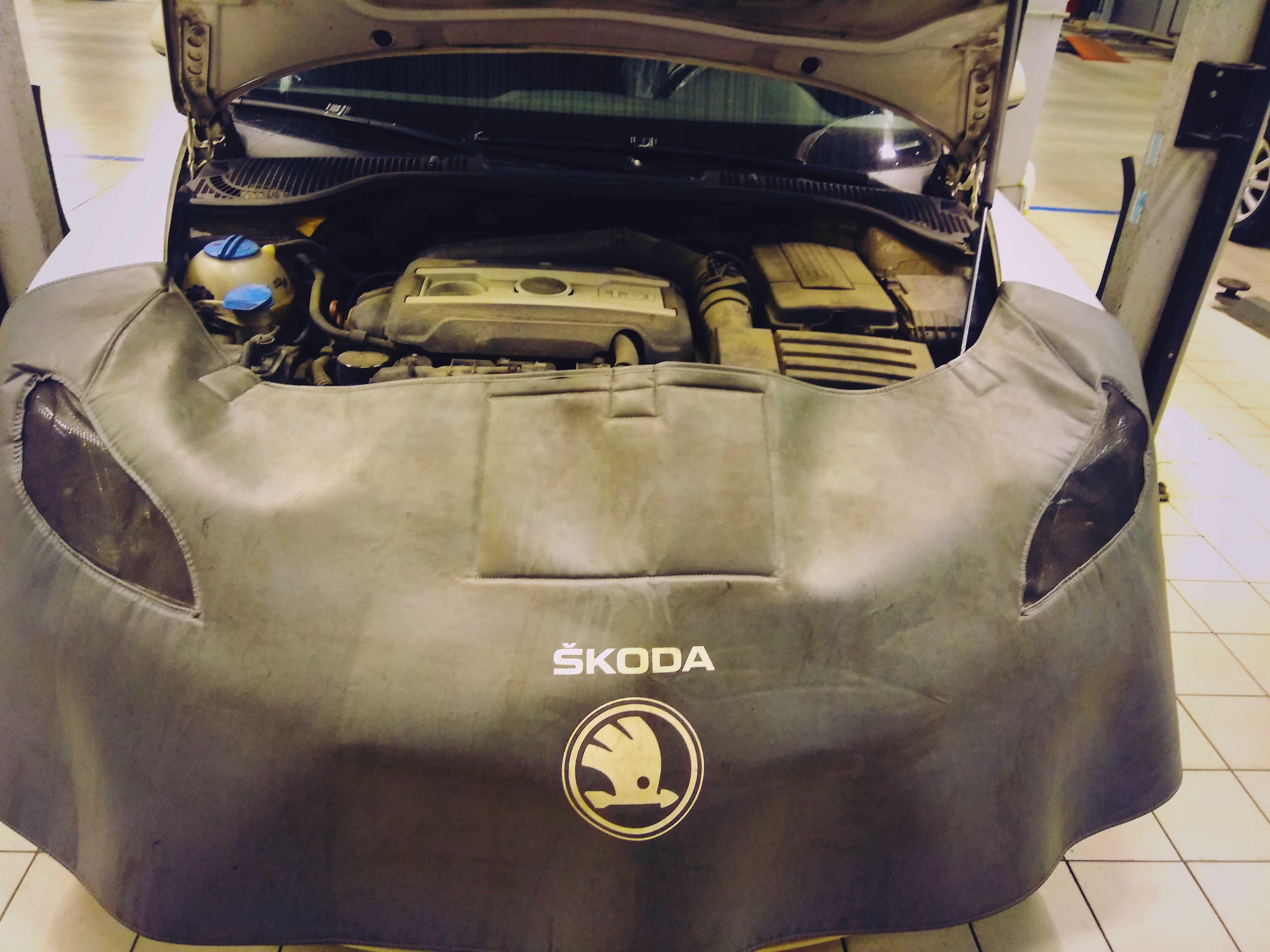 Замена масла в двигателе DSG6 автомобиля Skoda Octavia  - статья на DDCAR