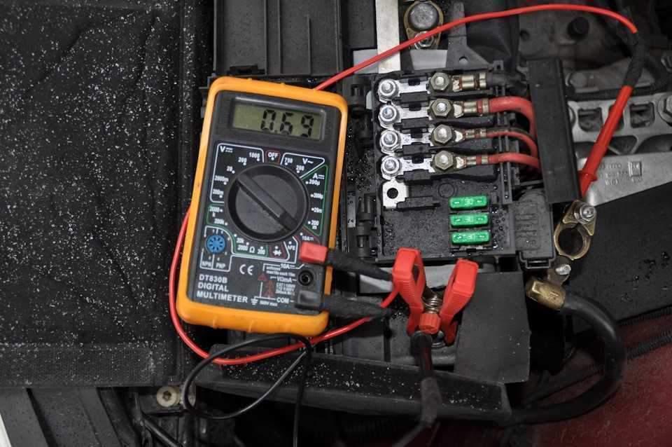 178afad6b1 5 - Как проверить напряжение мультиметром в автомобиле