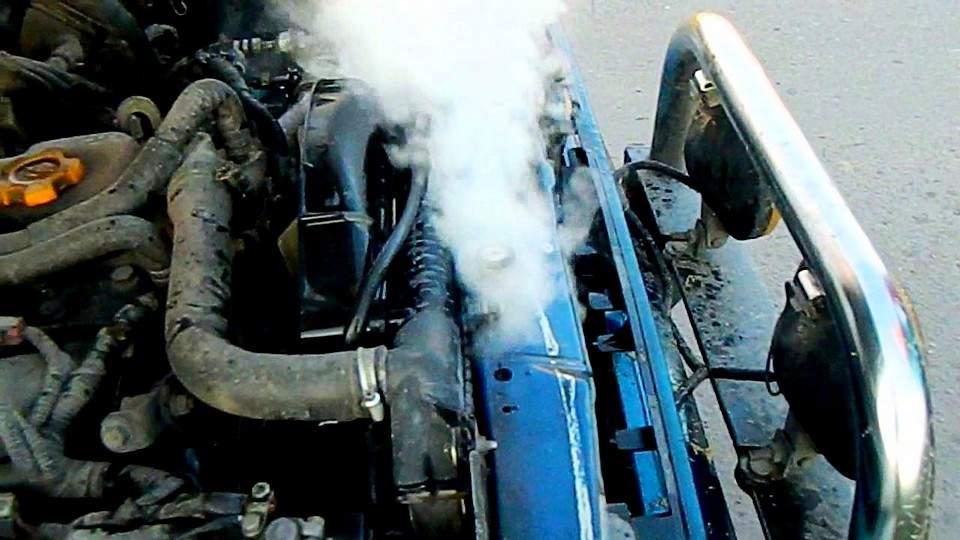 Кипение охлаждающей жидкости