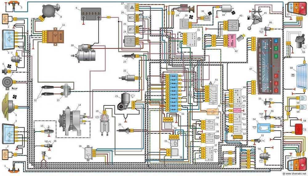Установка генератора на машину
